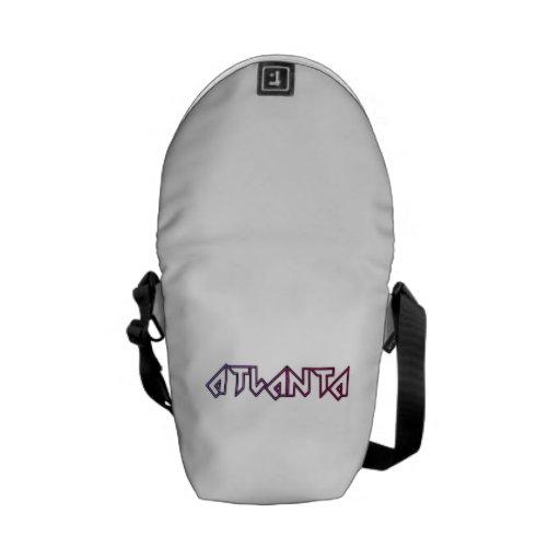 Atlanta Georgia Courier Bag