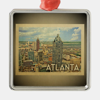 Atlanta Georgia Ornament Vintage Travel