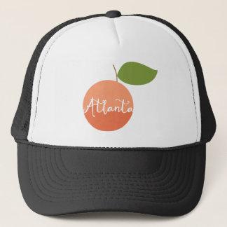 Atlanta, Georgia Peach trucker hat