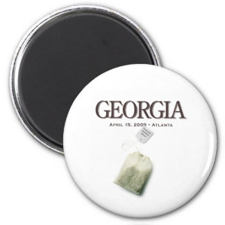 Atlanta Georgia Tea Party Magnet