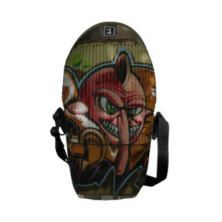 Atlanta Graffiti Mini Messenger Bag - 2