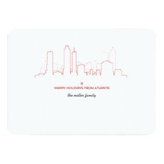 Atlanta Holiday Skyline Card