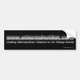 Atlanta Hotlist Bumper Sticker