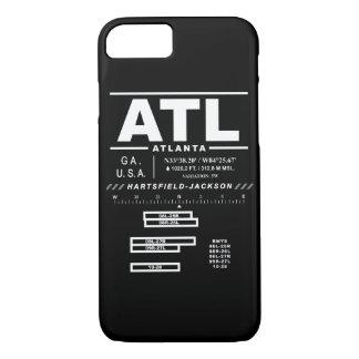 Atlanta International Airport ATL iPhone Case