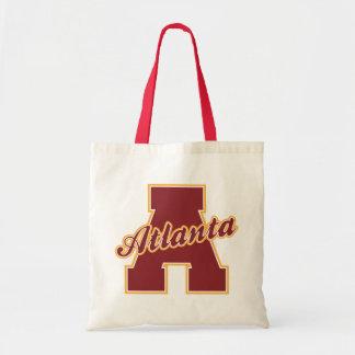 Atlanta Letter Budget Tote Bag