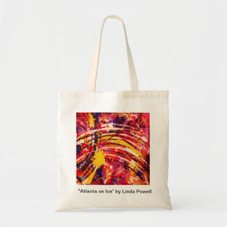 """Atlanta on Ice"" by Linda Powell~Original Tote"