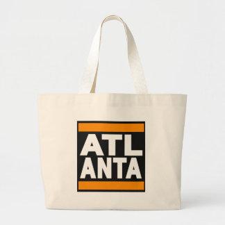 Atlanta Orange Canvas Bag