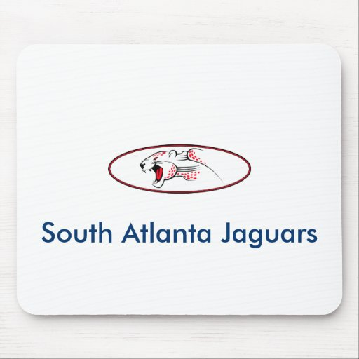 Atlanta Parks And Recreation South Atlanta Jaguars Mouse Pad