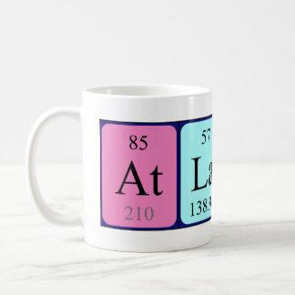 Atlanta periodic table name mug