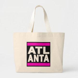 Atlanta Pink Canvas Bags