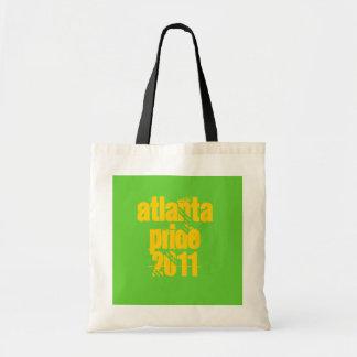 Atlanta PRIDE 2011 Budget Tote Bag