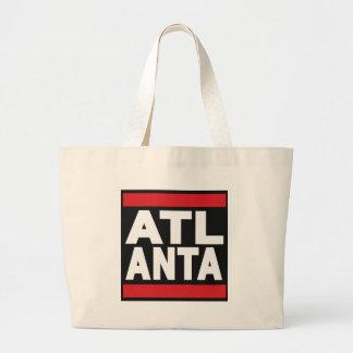 Atlanta Red Jumbo Tote Bag
