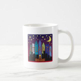 Atlanta Skyline mega color Coffee Mug