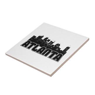 Atlanta Skyline Tile
