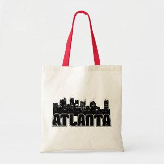 Atlanta Skyline Canvas Bag