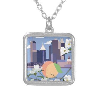 Atlanta Square Necklace
