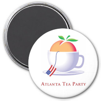 Atlanta Tea Party Logo Magnet