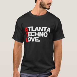 Atlanta Techno Love (blue) T-Shirt