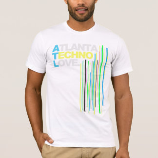 Atlanta Techno Love (green) Mens T-Shirt