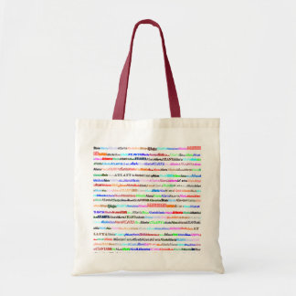 Atlanta Text Design II Budget Tote Bag