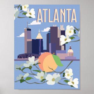 Atlanta Travel Poster