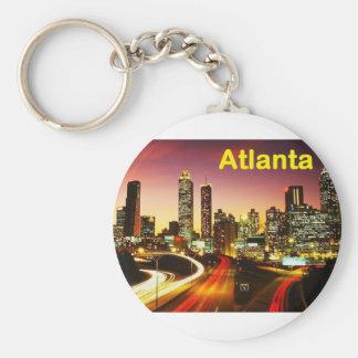 Atlanta (USA) (St.K) Basic Round Button Key Ring