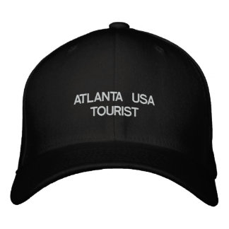 ATLANTA USA TOURIST EMBROIDERED HAT
