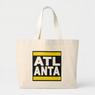 Atlanta Yellow Canvas Bags