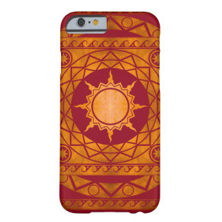 Atlantean Crafts Copper on Red Barely There iPhone 6 Case