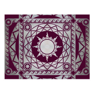 Atlantean Crafts Silver on Purple Post Cards