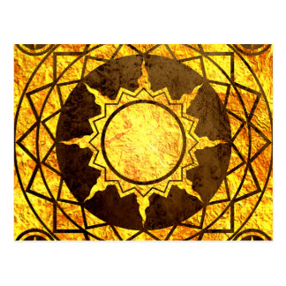 Atlantean Gold on Bronze Postcards
