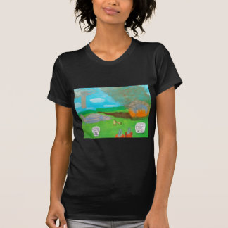Atlantean super jet crash 11,000 B.C..JPG T-Shirt