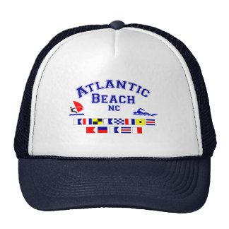 Atlantic Beach NC Signal Flag Cap