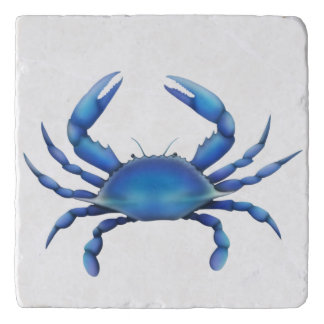 Atlantic Blue Crab Stone Trivet