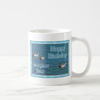 Atlantic Brant Geese Boss Birthday Coffee Mugs