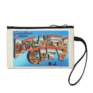 Atlantic City 1 New Jersey NJ Vintage Travel - Change Purse