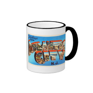 Atlantic City 1 New Jersey NJ Vintage Travel - Ringer Mug