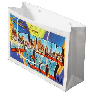 Atlantic City 2 New Jersey NJ Vintage Travel - Large Gift Bag
