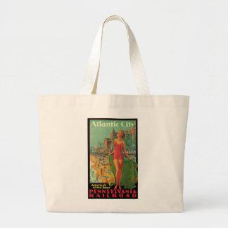Atlantic City - America's All Year Resort Jumbo Tote Bag
