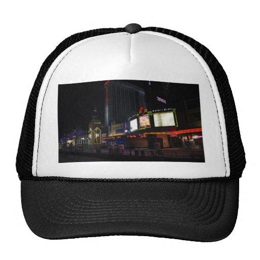 Atlantic City at Night Trucker Hats