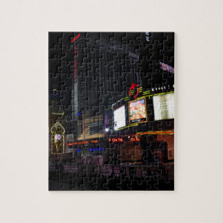 Atlantic City at Night Jigsaw Puzzle