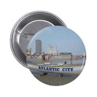 Atlantic City Beach Button