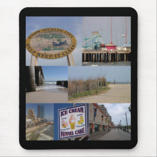 Atlantic City Boardwalk Mousepad