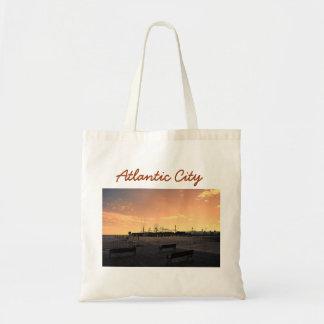Atlantic City Budget Tote Bag