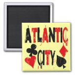 Atlantic City Fridge Magnet