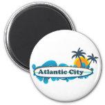 Atlantic City. Fridge Magnet
