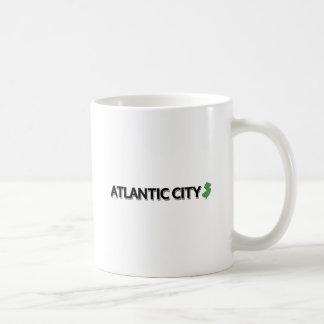 Atlantic City, New Jersey Basic White Mug