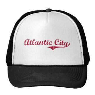 Atlantic City New Jersey Classic Design Hats