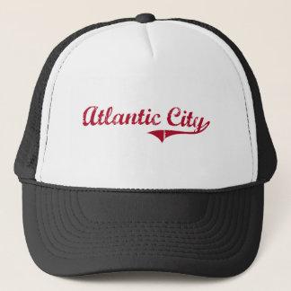Atlantic City New Jersey Classic Design Trucker Hat