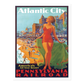 Atlantic City,New Jersey Post Card